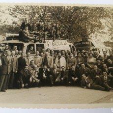Fotografía antigua: FOTO AÑOS 50 VIAJE ENTRE CAYON - CORUÑA GALICIA. Lote 151508273