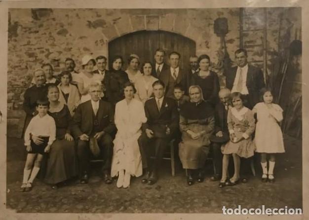 FOTO ANTIGUA FAMILIAR COSTUMBRISTA 12X17 CM (Fotografía - Artística)
