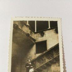 Fotografía antigua: FOTO AÑOS 50 DIPUTACIÓN BARCELONA CATALUÑA CATALUNYA ELEGANTE SEÑORA. Lote 151550954