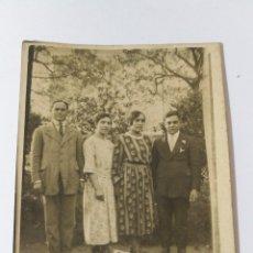 Fotografía antigua: TARJETA POSTAL AÑOS 20 FAMILIA EN GALICIA GALLEGOS. Lote 151551145