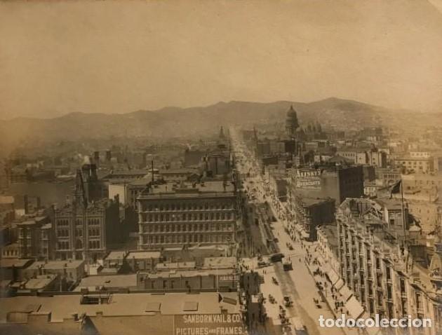 San Francisco. California. Fotografía antigua. 20,4x15,4 cm