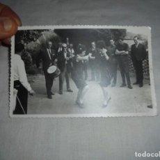 Fotografía antigua: GAITA Y TAMBOR FOTO JOSE MARIA POSADA DE LLANERA-CASA VERDERA.24 DE JULIO DE 1965. Lote 151805982