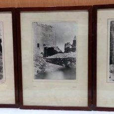 Fotografía antigua: FOTOS ENMARCADAS Y ACRISTALADAS. AÑOS 60-70. AUTOR VIDAL.. Lote 151833746
