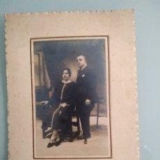 Fotografía antigua: FOTOGRAFÍA ANTIGUA AÑOS 20, HOMBRE CON PIERNA DE PALO, ORTOPEDIA. Lote 151836437