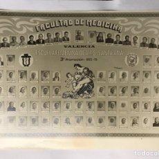 Fotografía antigua: VALENCIA. FOTOGRAFÍA FACULTAD DE MEDICINA, ESCUELA FEMENINA DE A.T.S. (A.1972-75). Lote 151915220