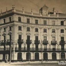 Fotografía antigua: BANCOS DE URQUIJO. BILBAO 17X11,2 CM. Lote 151924814