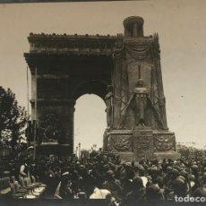 Fotografía antigua: LE MONUMENT EN L'HIMEUR DES MORTS POUR LE PATRIE 11,8X8,8 CM. Lote 151926066