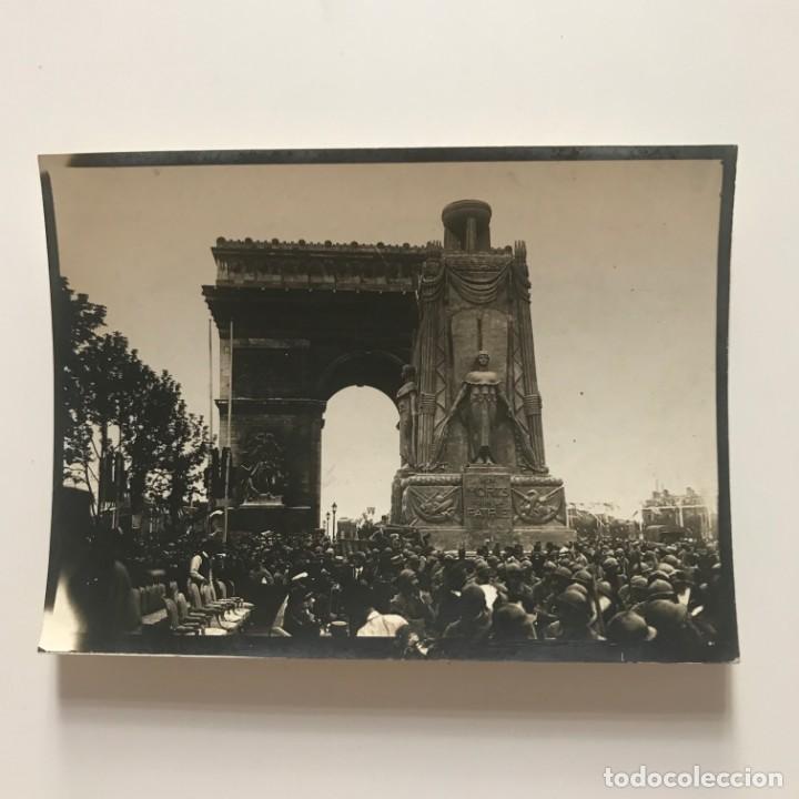 Fotografía antigua: Le monument en lhimeur des morts pour le patrie 11,8x8,8 cm - Foto 2 - 151926066
