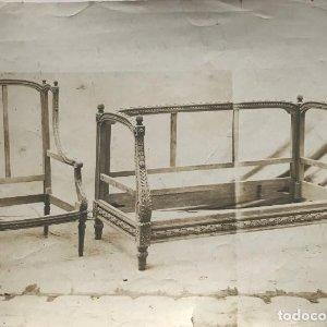 Mueble antiguo 23x17 cm