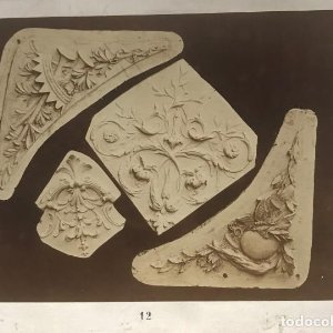 Ornamentos 15,4x20,5 cm