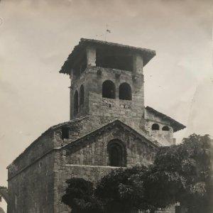 Iglesia conjunto fachada 18x24 cm