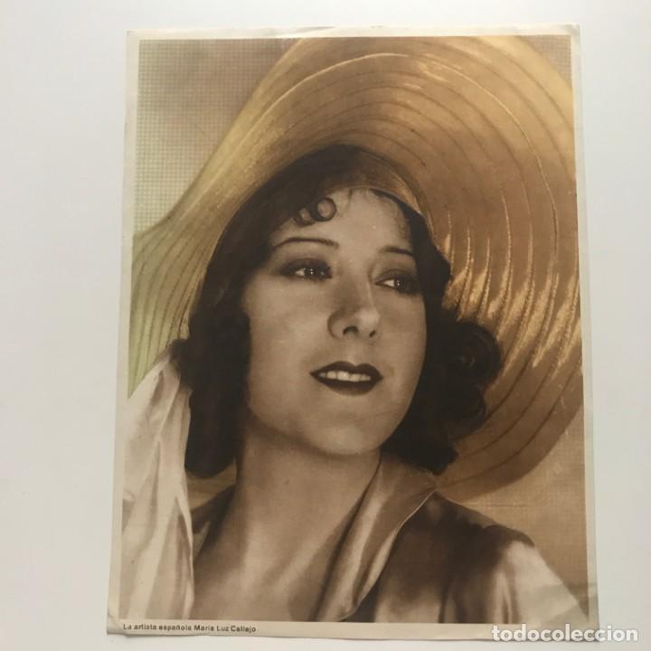 Fotografía antigua: Foto mujer época 17,2x22,2 cm - Foto 2 - 152021126