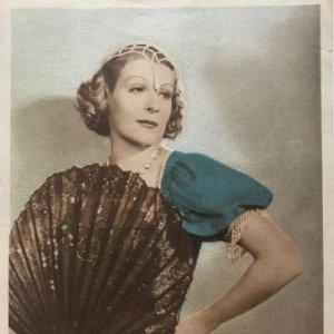 Foto mujer época 17,4x22,5 cm