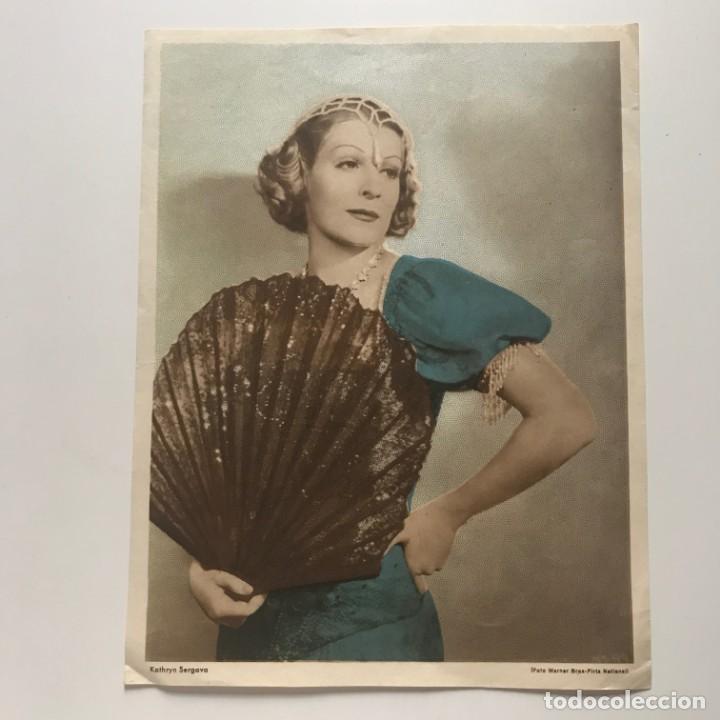 Fotografía antigua: Foto mujer época 17,4x22,5 cm - Foto 2 - 152021330