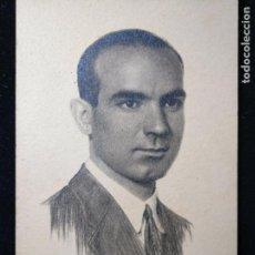 Fotografía antigua: FOTOGRAFÍA ESTUDIO GROLLO - CABALLERO SEÑORITO CARTÓN DURO C. 1910-1920. Lote 152060654