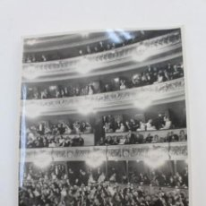 Fotografía antigua: FG-429. FOTOGRAFIA ORIGINAL LICEO DE BARCELONA. DICIEMBRE 1946.. Lote 152313142