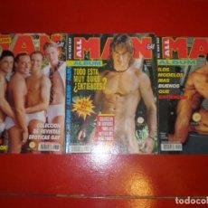 Fotografía antigua: LOTE DE 6 REVISTAS ALL MEN EROTICA MASCULINA GAY. Lote 152328670
