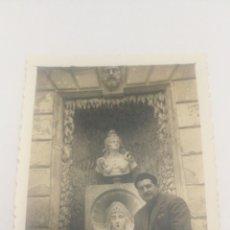 Fotografía antigua: AÑOS 50 FOTO FUENTE CASA PALACIO REAL DEL LABRADOR ARANJUEZ MADRID REALEZA. Lote 152596278
