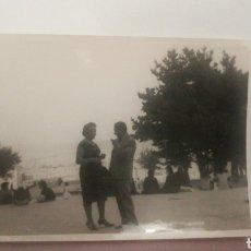 Fotografía antigua: AÑOS 50 FOTO PARQUE SANTA MARGARITA CORUÑA GALICIA. Lote 152596325
