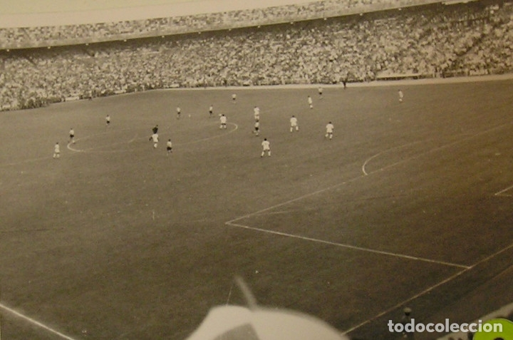 Fotografía antigua: valencia club de futbol final copa del generalisimo 2 de julio de 1967 estadio bernabeu - Foto 2 - 152659810