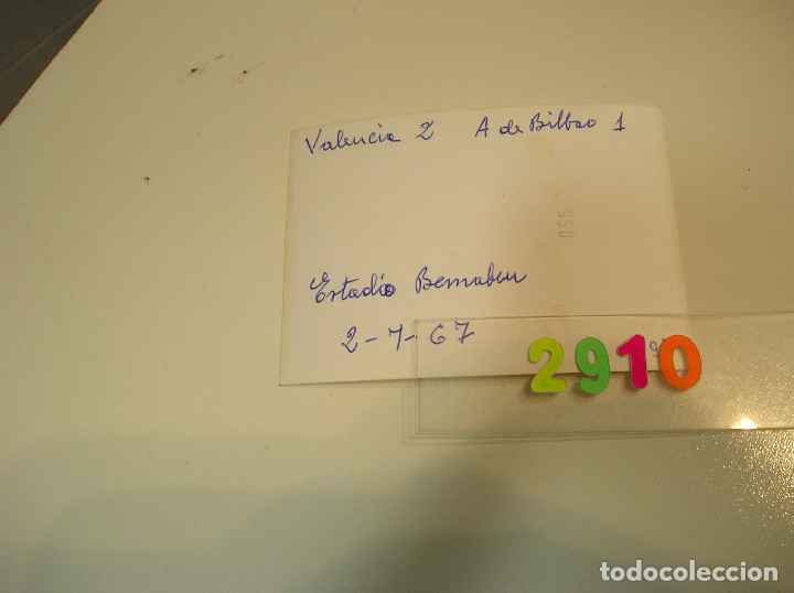 Fotografía antigua: valencia club de futbol final copa del generalisimo 2 de julio de 1967 estadio bernabeu - Foto 12 - 152659810