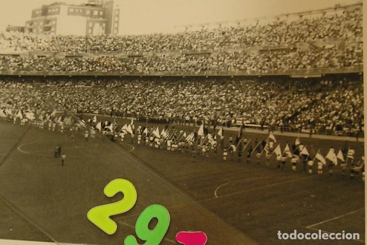Fotografía antigua: VALENCIA CLUB DE FUTBOL FINAL COPA DEL GENERALISIMO 2 DE JULIO DE 1967 ESTADIO BERNABEU - Foto 2 - 152674338