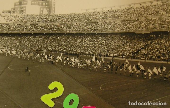Fotografía antigua: VALENCIA CLUB DE FUTBOL FINAL COPA DEL GENERALISIMO 2 DE JULIO DE 1967 ESTADIO BERNABEU - Foto 3 - 152674338