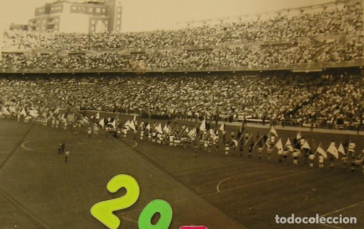 Fotografía antigua: VALENCIA CLUB DE FUTBOL FINAL COPA DEL GENERALISIMO 2 DE JULIO DE 1967 ESTADIO BERNABEU - Foto 11 - 152674338