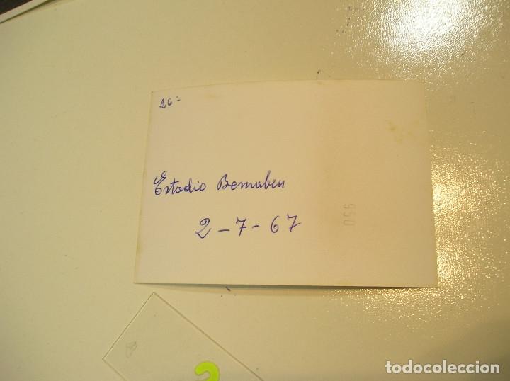 Fotografía antigua: VALENCIA CLUB DE FUTBOL FINAL COPA DEL GENERALISIMO 2 DE JULIO DE 1967 ESTADIO BERNABEU - Foto 15 - 152674338