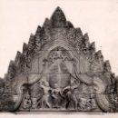 Fotografía antigua: FOTOGRAFÍA DE UNA PIEZA DE ARTE ASIÁTICO (CAMBOYA) DEL MUSEO GUIMET DE PARÍS - AÑOS 1960. Lote 152877398