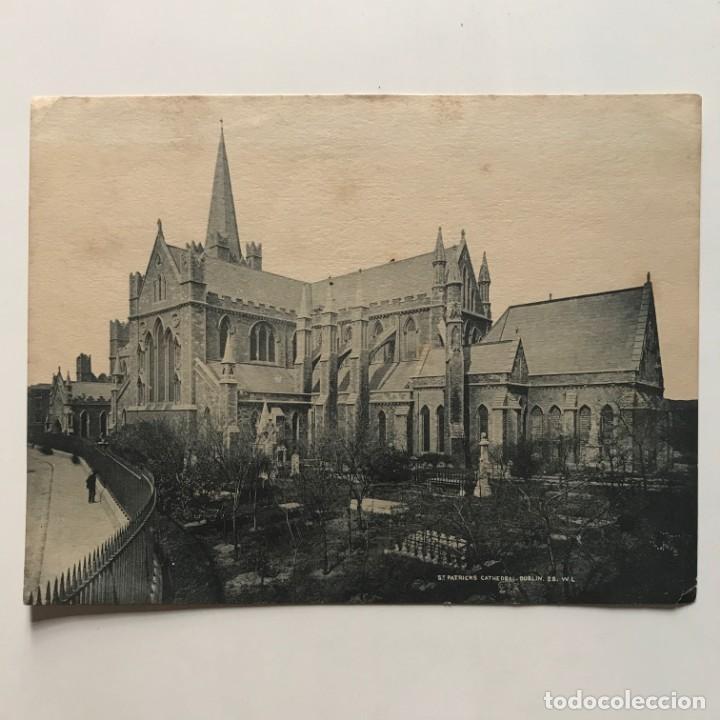 Fotografía antigua: Reproducción fotografía St. Patricks Cathedral. Dublin 20,3x15,4 cm - Foto 2 - 153070854
