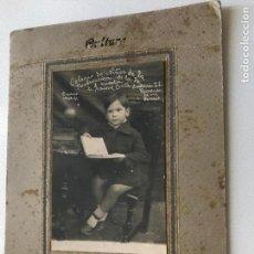 Fotografía antigua: FOTOGRAFÍA ESTUDIANTE CURSO 1930-1931. Lote 153100650