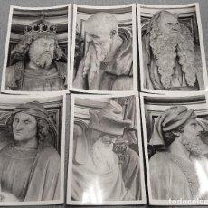 Fotografía antigua: LOTE 6 FOTOGRAFÍAS DE PUITS DE MOISE DIJON FRANCIA - THE WELL OF MOSES PHOTO´S. Lote 153212562