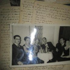 Fotografía antigua: LOTE FOTOS ANTIGUAS Y MANUSCRITOS D JOSE ROMERO EN ATENEO MERACANTIL VALENCIA 1948. Lote 153437782