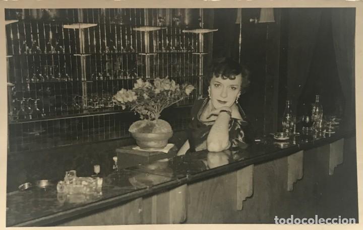 1956 FOTO ARTISTA 8,7X13,8 CM (Fotografía - Artística)