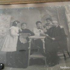 Fotografía antigua: JULES (JULIO) DERREY VALENCIA, ESCENA MODERNISTA. GRAN FORMATO FOTOGRAFIA DE PRINCIPIOS DEL S.XX. Lote 153565598