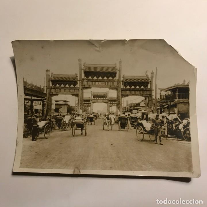 Fotografía antigua: 1929. Peking. Beijing. Fotografía de prensa (ver fotos) 20,8x15,3 cm - Foto 2 - 149276794