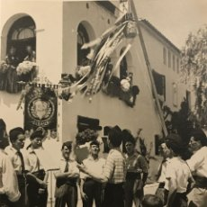 Fotografía antigua: LA CONCORDIA. CABRILS. MARESME 18X24 CM. Lote 149285762