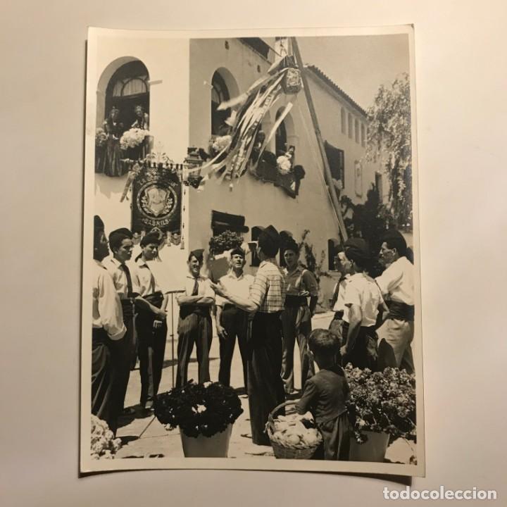 Fotografía antigua: La Concordia. Cabrils. Maresme 18x24 cm - Foto 2 - 149285762