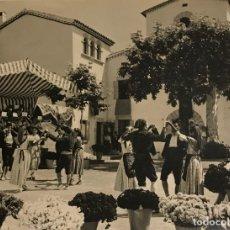 Fotografía antigua: LA CONCORDIA. CABRILS. MARESME, SARDANAS 18X24 CM. Lote 149286306