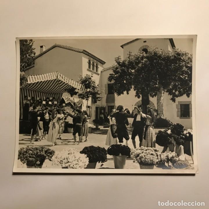 Fotografía antigua: La Concordia. Cabrils. Maresme, Sardanas 18x24 cm - Foto 2 - 149286306