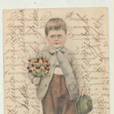 Fotografía antigua: POSTAL.- FRANQUEADA Y FECHADA AL DORSO EN MANRESA EN 1904. DESTINO BARCELONA. Lote 154003808