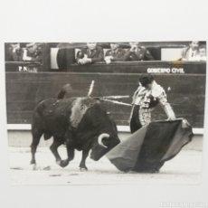 Fotografía antigua: JOSÉ CUBERO EL YIYO TOREANDO - PLAZA DE TOROS DE LAS VENTAS - MADRID AÑOS 80 - REPORTAJES BOTAN. Lote 154039542