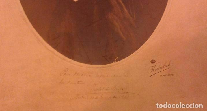 Fotografía antigua: Preciosa fotografía de la Infanta Isabel la Chata con su autógrafo o firma. Fotógrafo Kaulak. - Foto 2 - 154132090