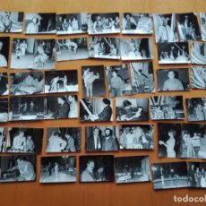 Fotografía antigua: 70 FOTOGRAFIAS, FESTIVAL MUNDIAL DEL CIRCO, BARCELONA 1969. CHARLIE RIVEL, MARY SANTPERE…. Lote 154761926
