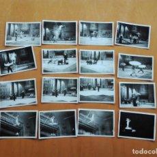 Fotografía antigua: 16 FOTOGRAFÍAS, DE ACTUACIONES CIRCENSES EN EL TEATRO CIRCO OLYMPIA DE BARCELONA, AÑOS 30-40.. Lote 154762554