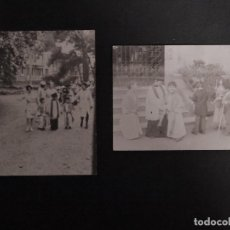 Fotografía antigua: 2 ANTIGUAS FOTOGRAFÍAS DE NIÑOS DISFRAZADOS . Lote 155006118