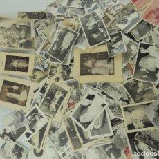 Fotografía antigua: GRAN LOTE DE GOTOGRAFIAS -FOTOS EN BLANCO Y NEGRO DISTINTOS AÑOS. Lote 155240294
