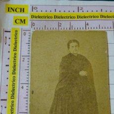 Fotografía antigua: ANTIGUA FOTO. SIGLO XIX - INICIOS XX. PRESUMIBLEMENTE DE MÁLAGA. MUJER DAMA. Lote 155482742