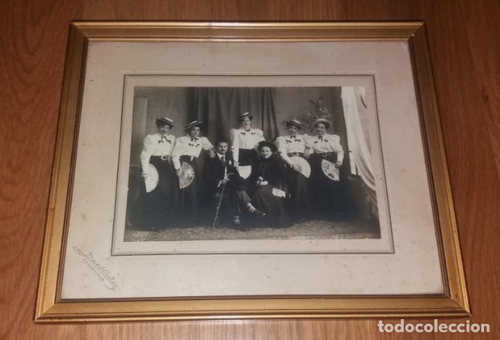 FOTOGRAFÍA ANTIGUA. FAMILIA DE TORREVIEJA, PRINCIPIOS SIGLO XX, DARBLADE (Fotografía - Artística)